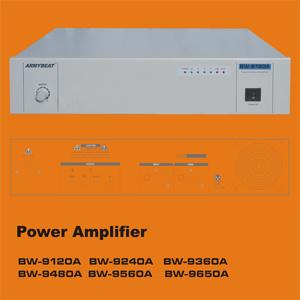 Amplificador de Megafonía BW BW-8240-8120A UN