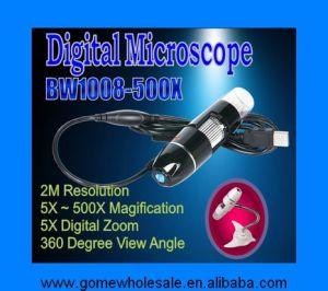 디지털 방식으로 USB 현미경 (Bw1008-500x)
