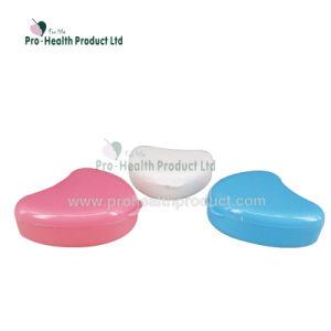 ハート形の半分の総義歯の記憶の歯科保持器義歯のための人口ボックス箱