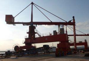 El tornillo de descarga de buques tipo tornillo vertical de descarga de buques 500t/h