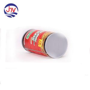 Lata de óleo com revestimento de cor com tampa de plástico