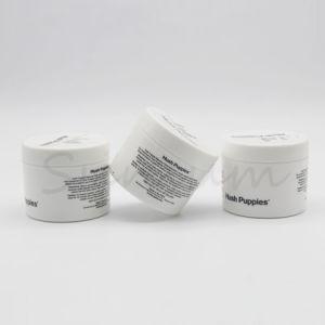 シルクスクリーンの印刷白いカラーローションのクリームのプラスチック瓶