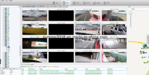 車およびトラック艦隊管理のためのWiFi GPS 4Gのレコーダーバス移動式DVR