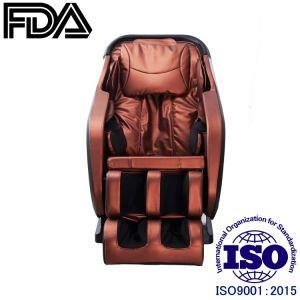 3D en forma de L sillón de masaje Champagne