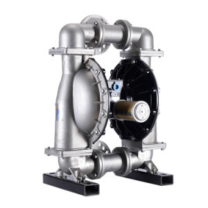 De aço inoxidável 316 líquidos industriais de ar Bombas de diafragma duplo pneumático