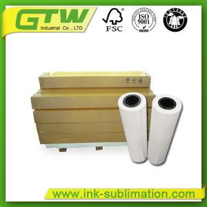 Documento di antiarricciatura di sublimazione della tintura 100GSM con il tasso di trasferimento di 98%
