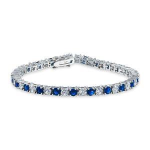 習慣925の銀及びCZのブレスレットの方法925銀製の宝石類