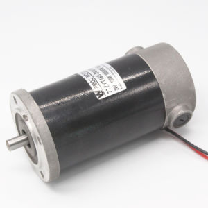 77mm 12V 500W PMDC eléctrico del motor para aplicaciones de inicio