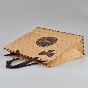 Дешевые переработки коричневый крафт-бумаги или мешки с лаком