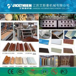 Le WPC plastique PVC Panneau de plafond de la machine de l'extrudeuse de mur/plafond Mur du panneau en plastique PVC extrudeuse
