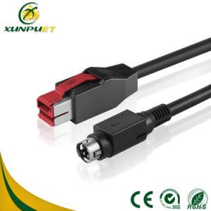 Универсальный кабель питания компьютера USB используется в передаче данных