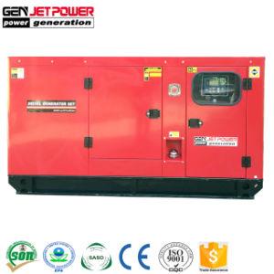 Generatore ad azionamento idraulico a tre fasi 30kVA del generatore diesel silenzioso insonorizzato 24kw