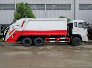 아프리카를 위한 Dongfeng 6X4 16cbm 쓰레기 쓰레기 압축 분쇄기 트럭