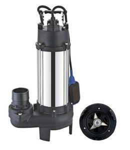 Pompa del mezzo sommergibile della taglierina dell'acciaio inossidabile