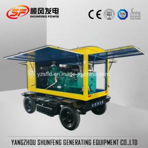Generatore diesel portatile di energia elettrica di 80kw Cummins con il baldacchino Rainproof
