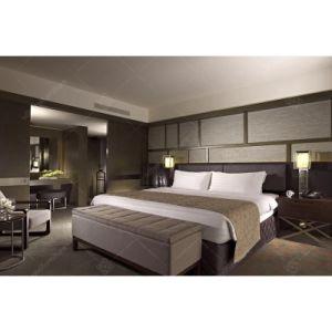 Novo modelo de quarto contemporâneo mobiliário para hotel de madeira (KL 108)