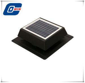 verblassen prüfender Solarventilator 10watt mit Sonnenkollektor und 9inch