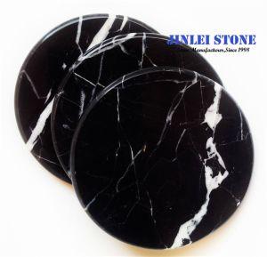 Heißer Verkauf natürliche schwarze Nero Marquina Marmorplatte