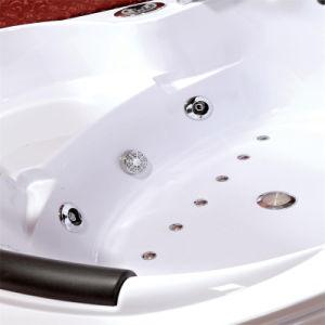 Esquina caliente bañera de masaje con el equipo Panel de control (CDT-001).