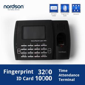 Ecrã TFT de 3 polegadas de Rede TCP/IP a RFID/ID/IC Rede GSM biométricos a tempo inteiro com interface USB