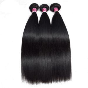 Tissage de cheveux humains droites brésilien Remy Hair