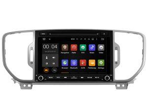 KIA Sportage 2016 붙박이 DVR 기능을%s Witson 쿼드 코어 인조 인간 8.1 차 DVD GPS