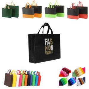 PP Non-Woven promocional personalizado impreso Tote Bolsa de compras al por mayor no reutilizables imprimible Compras bolsas tejidas de embalaje bolsa de regalo con logo