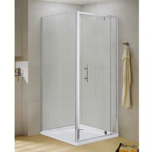 Accesorios de baño de cristal de diseño moderno baño con ducha Habitación Alojamiento