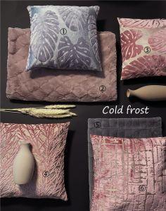 Cortar Velvet sofá de poliéster almofadas almofadas coloridas Home almofadas decorativas