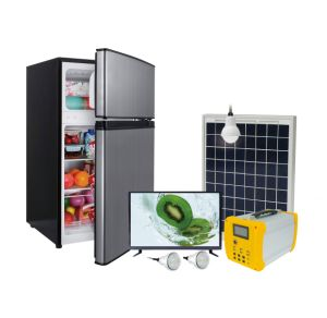 L'énergie solaire Accueil générateur de réfrigérateur et congélateur système avec Onduleur de 500 W CA