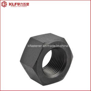 Les écrous de structurelle avec finition noire A563/DIN6915