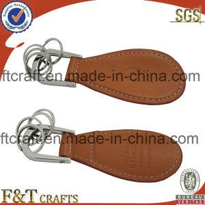 Chaveiro de couro personalizados de alta qualidade (FTLK1002A)