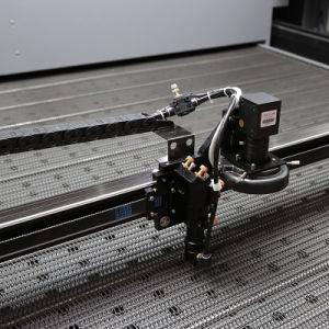 *CCD Sccd cabeça dupla câmara SLR máquina de corte a laser tecido// Logótipo/Banner/vestuário desportivo/Publicidade/ Cortador a Laser