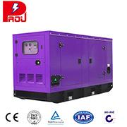 Бесшумный Cummins тип дизельный генератор трехфазного переменного тока
