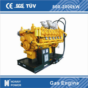 generatore del gas del gas naturale del motore di potere 800kw/1000kVA bio- (HGGM1000)