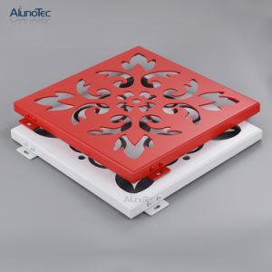 La pulverización de fluorocarbono techos de aluminio recubierto de PE