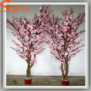 Simulação Graden Decoration planta artificial Peach Blossom Tree