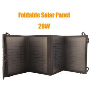Generador de energía solar 20W batería externa portátil con panel solar para el hogar/Outdoor