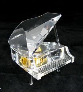 Piano transparente para la boda Giftsand regalos de cumpleaños (KS03035)