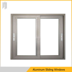 알루미늄 프레임 슬라이딩 윈도우 두 배 유리창