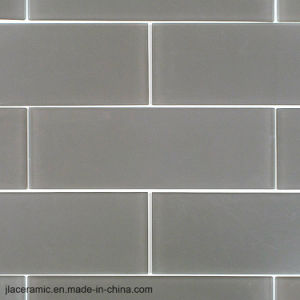 De grijze het Behandelen van de Muur van de Tegel van de Muur van de Badkamers van 4X12inch/10X30cm Ceramische Tegel van het Porselein van de Tegel van de Steen