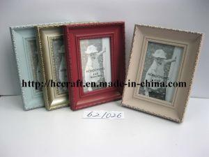 Different Color에 있는 Foil를 가진 나무로 되는 Gesso Photo Frame