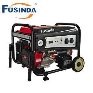 5kw Elektrisch Ce/Generator van de Benzine van het Begin van de Terugslag de Draagbare (FB6500E) voor het Gebruik van het Huis