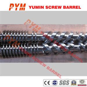55/110 à double vis à vis du fourreau feuille PVC dur PC