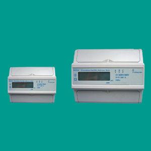 EDR34 трехфазный блок счетчик электроэнергии для направляющих DIN
