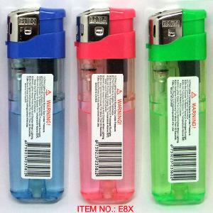 Isqueiros electrónicos Acendedor de gás (E8X)