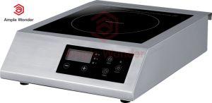 3500 W acero inoxidable cuerpo toque el sensor de Pantalla LED de control de placa de inducción comercial multifunción