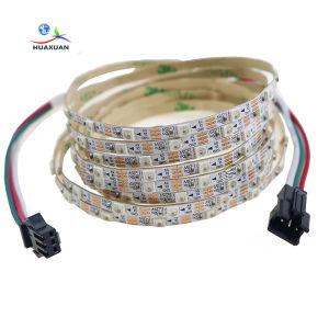 5m/Rool strato FPCB SMD3535RGB di singola riga di 144LED/M e di 60LED/M doppio con le strisce del pixel LED di Ws2812 CI