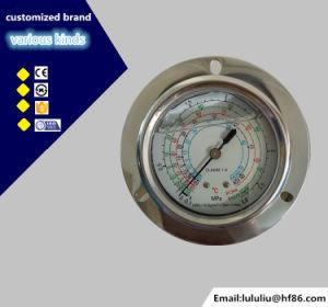 Manometro molteplice di refrigerazione dell'acciaio inossidabile R410A