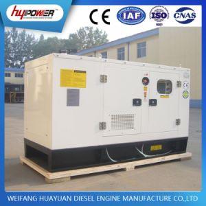 Buon generatore diesel silenzioso di qualità 45kVA con Yanmar 4tnv98t-Gge  e Stamford originale Alternator